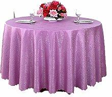Tischdecke Tisch Tischdecke Tischdecke Tischdecke, Lila Stoff Tischtuch ( größe : 220CM )
