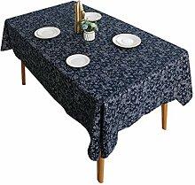 Tischdecke Tischdecke Aus Baumwolle Und Leinen