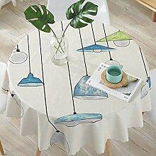Tischdecke, Tischdecke/Pvc/Wasserdicht/Öl- /