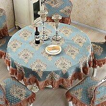 Tischdecke Tischdecke, Spitze Esstisch Tuch Runder