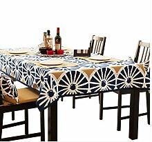 Tischdecke Tischdecke Stoff Baumwolle Kaffee