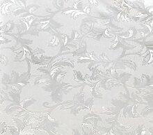 Tischdecke - Tischfolie Transparent - Blätter - Größe: 140 x 220 cm