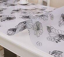 Tischdecke Tischläufertuch -Transparent Plastik