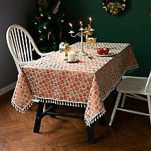 Tischdecke Tischwäsche 130x170cm, Wasserdicht,