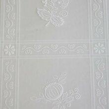 Tischdecke transparent 1,40x20m Dekor 153