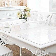 Tischdecke Transparent Abwaschbar,