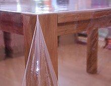 Tischdecke transparent - Eckig - verschiedene Größen (135 x 180 cm)
