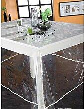 Tischdecke Transparente Kunststoff Quadratisch