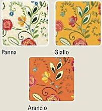 Tischdecke Typ Garden 170 Rotonda Arancio