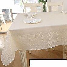 Tischdecke/umweltschutz,pvc,europäisch,ländliche tischdecke/wasserdicht],einweg,plastiktuch kunst/tischtuch/tischtuch/Ölbeweis tischdecke/teetisch matten-C 137x180cm(54x71inch)