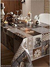 Tischdecke Versuchung natur 150x 250