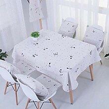 Tischdecke waschbar Abdeckungen für Haus