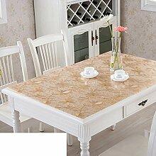 Tischdecke/Wasser Und Öl Beweis Tischdecke/Weichglas Tischdecke/Kunststoff Tischdecke-B 70x70cm(28x28inch)