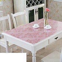 Tischdecke/Wasser Und Öl Beweis Tischdecke/Weichglas Tischdecke/Kunststoff Tischdecke-I 60x130cm(24x51inch)