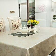 Tischdecke/wasserdicht],burn-proof,einweg,tischtuch/rechteck,roundtable],hotels],restaurant,hausgebrauch,pvc tischdecke-E 140x190cm(55x75inch)