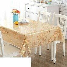 Tischdecke/Wasserdicht Kunststoff Tischdecke/Weiche Glasgewebe-A 137x200cm(54x79inch)