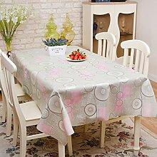 Tischdecke/wasserdicht,pvc,einweg-tischdecke/Ölbeweis tischdecke/tischtuch/ländlichen,kunststoff,stoffe,dicker tisch matte-A 137x200cm(54x79inch)