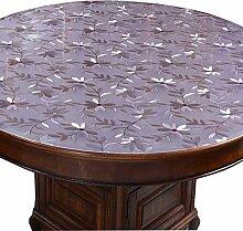 Tischdecke Weiche Runde Glas Pvc Tischplatte