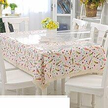 Tischdecke Weiches glas,Fluidsysteme,Style tischtuch Güter mit doppeltem verwendungszweck,Kristall-tischdecke Teetisch matten-M 60x120cm(24x47inch)