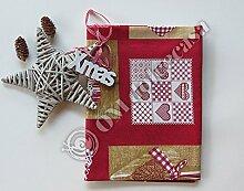 Tischdecke Weihnachten Weihnachten 100% Baumwolle für 12Personen