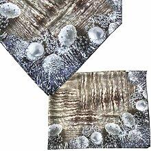 Tischdecke Weihnachten Weihnachtlich von JEMIDI 130cm x 160cm Decke Tisch Tafeldecke Mitteldecke Advent Design 2