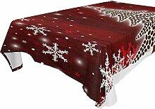 Tischdecke, Weihnachtsbaum, Kaffeebohnen, Leinen,