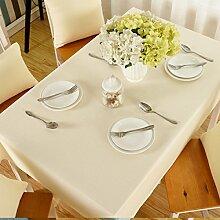 Tischdecke Weihnachtstischdecke Einfarbig Baumwolle Klein Frisch Rechteckig Schlicht Wohnzimmer Tischdecke Tischdecke,C-60*60cm