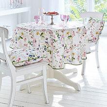 Tischdecke zur Frühlings-Tischwäsche mit