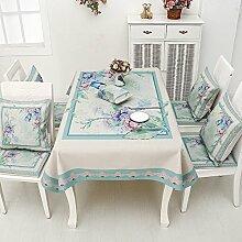 Tischdecke zzhf mit Tuch, klein, quadratisch mit