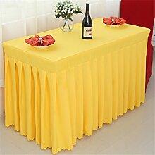 Tischdecken 100% Polyester-Solid-Color-Tisch Tuch