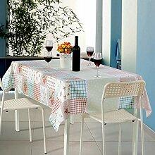 Tischdecken Active Printing Tischdecken Tuch Familie Verwendung Clothcloth Tischdecke Tischdecke Weihnachten Tischdecke Staubdicht,G-51.2*66.9in