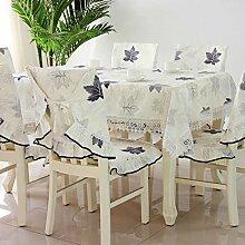 Tischdecken, Art und Weise pastorale quadratische Tabellen-Tuch-Tabellen-Stoff-Stuhl-Abdeckungs-Kissen-Tabellen-Tuch-Tuch-Sätze des Tuches einfach und modern , Hotel Tischdecke ( Farbe : A , größe : 1# )