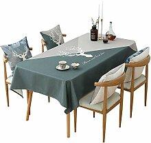 Tischdecken Baumwolle Leinen, Tischdecke