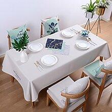 Tischdecken Baumwolle und Leinen Vermischt