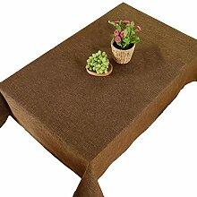 Tischdecken Einfarbig Couchtisch Tuch Rechteckige