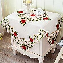 Tischdecken/Europäisch anmutenden bestickte