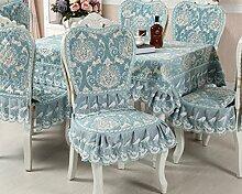 Tischdecken, Europäische Stil Tischdecke Esszimmer Stuhl Kissen Rechteckige Tischdecke Kaffee Tischdecke Tischfahne Europäischen Stoff Runde Tisch , Hotel Tischdecke ( Farbe : O , größe : 2# )