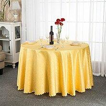 Tischdecken/ Hotel Tischdecke/Großhandel European-Style Restaurant Tisch Tischdecke/ runder Tisch quadratisch Tischdecke-J Durchmesser300cm(118inch)