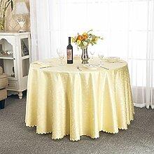 Tischdecken/ Hotel Tischdecke/Großhandel European-Style Restaurant Tisch Tischdecke/ runder Tisch quadratisch Tischdecke-C Durchmesser180cm(71inch)