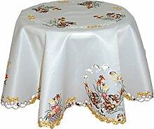 Tischdecken OSTERN Espamira Champagner HELL