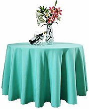 Tischdecken Polyester,Eckig Oval Rund Größe und