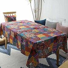 Tischdecken Rechteck Staubdichter