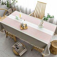 Tischdecken Rechteckig,Baumwolle Leinen