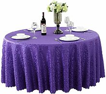Tischdecken, Runde Tischdecke, europäischer Stil Hotelrestaurant, Haushalt Tischrock , Hotel Tischdecke ( Farbe : 5# , größe : 160cm )