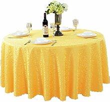 Tischdecken, Runde Tischdecke, europäischer Stil Hotelrestaurant, Haushalt Tischrock , Hotel Tischdecke ( Farbe : 1# , größe : 300cm )
