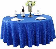 Tischdecken, Runde Tischdecke, europäischer Stil Hotelrestaurant, Haushalt Tischrock , Hotel Tischdecke ( Farbe : 3# , größe : 240cm )