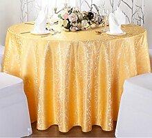 Tischdecken, Runder Tisch Tischdecke, Hotel Tischdecken, European Style Restaurant Tischdecke, Haushalt Kaffee Tisch Tischdecke, Tisch Rock , Hotel Tischdecke ( Farbe : 2# , größe : 180cm )