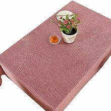 Tischdecken Stoff Couchtisch Volltonfarbe