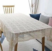 Tischdecken Tischdecke 110 * 110Cm Spitze
