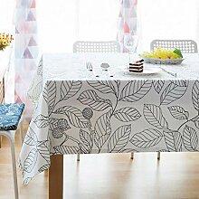 Tischdecken/Tischdecke aus Baumwolle, Rechteckige
